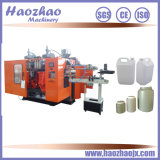 Máquina del moldeo por insuflación de aire comprimido de la protuberancia para la botella redonda abierta de la tapa