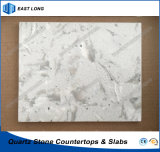 Ausgeführte Steinquarz-Platten für feste Oberfläche mit Qualität (Marmorfarben)