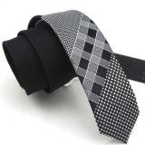 Cravates tissées par polyester de panneau de la mode des hommes (PN07/08/09)