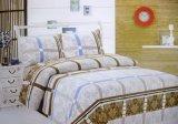 De afgedrukte Reeks van het Beddegoed van de Textiel van het Beddegoed Vastgestelde naar huis 4PCS