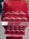 Affichage de carton cosmétiques rack, étagère en carton plastifié affichage brillant