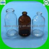 100ml clair et orange bouteille moulé