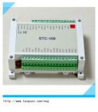 module Stc-106 de Modbus de l'entrée 8PT100 avec le protocole de RS485/232 Modbus RTU