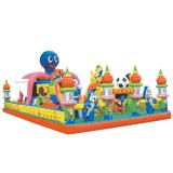 Зал для занятий фитнесом Bouncer надувной замок с прыгающими мячами для детей