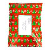 Saco plástico feito sob encomenda Wearable Eco-Friendly do encarregado do envio da correspondência com logotipo feito sob encomenda