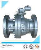 Metal Seal Wcb Flanged API Válvula de esfera de aço fundido flutuante
