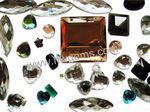 Verre en cristal de verre Verre Rare-Earth spéculaire Stone & cordon