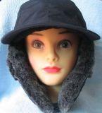 毛皮(VT004)が付いている熱い販売の暖かい帽子
