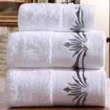 100% algodón Bordering toalla de baño (DPH7017)