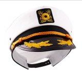 Seemann-Schutzkappen-Partei-Kostümzusatzgerät des Neuheit-Halloween-erwachsenes Yacht-Boots-Kapitän-Hat