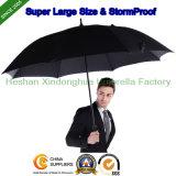 Ombrello antivento di golf della grande tempesta eccellente di alta qualità per la pubblicità (GOL-0027FAC)