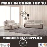 Современные подлинной белый кожаный диван (Lz780)