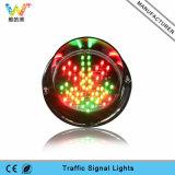 Nuovo segnale stradale personalizzato dell'indicatore luminoso giallo LED di 125mm
