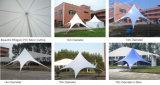 良質の結婚式の直径6mのための白い星の陰のテント30人のSeaterのゲスト
