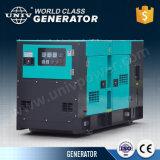 L'univ marque la vente directe en usine moteur 10kVA 3phase générateur diesel silencieux