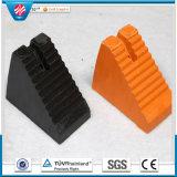 Industriales de goma de la rueda Chock bloque titular, el amortiguador de goma