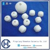 99% de alúmina de bolas de cerámica con el agujero ha Catalizador Carrier y química de embalaje utilizados en petróleo, químicos, Fabricantes de la Industria de Gas Natural-profesionales