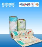 Filme Plástico Automática do tecido molhado, rolo de filme de embalagens de produtos químicos