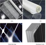 Célula solar Monocrystalline da bateria do painel solar 200W 30V do silicone