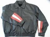 Veste en cuir pour hommes (M07019)