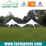 De witte Tent van de Schaduw van de Ster voor OpenluchtDiameter 16m van de Gebeurtenis de Gast van Seater van 150 Mensen voor Huur