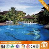 Meermin, Dolfijn, het Mozaïek van het Glas van het Zwembad van Bloemen (H420089)