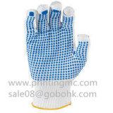 PVC anti del resbalón que puntea la impresora rotatoria de la pantalla de seda de los guantes para la venta