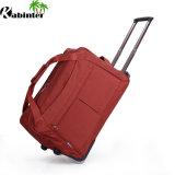 Valigia variopinta del sacchetto del carrello dei bagagli del carrello del sacchetto di Duffle con 2 rotelle
