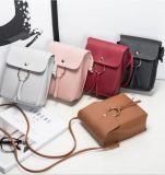 Sacchetto di cuoio della signora spalla delle borse della cartella delle donne