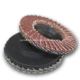 스테인리스 제품 거친 피복 플랩 디스크를 위한 거친 플랩 디스크