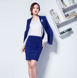 Fabriqué à la mesure Fashion Stylish Office Lady Formal Suit Slim Fit Pencil Calabres Costume à jupe crayon L51610