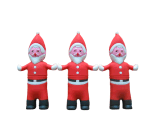 PVC USB Drives Santa Claus en forma de una unidad flash USB (MK 473)