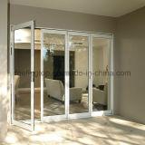 Feelingtop Melhor qualidade de liga de alumínio porta dobrável de luxo