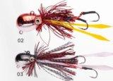 Attrait de pêche d'attrait de gabarit d'attrait de tête de fil d'attrait de gabarit de fil
