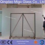 3mm-12mm escarchado vidrio grabado ácido