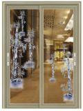 Лучшее качество дешевые прямой регистрации цен на заводе с алюминиевой рамкой стекла складной аккордеон дизайн задней двери