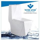 Керамические Weidansi промойте вниз S-Trap одну деталь туалета (WDS-T6104)
