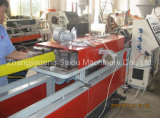 Chaîne de production plate en plastique contrainte d'avance de pipe de PE de HDPE