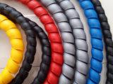 O protector de borracha em espiral de PP flexível