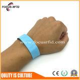 Bracelete descartável impermeável de RFID para eventos