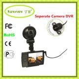 Espejo Retrovisor Carcam 3.5 Inch Dual Lens Vehicle DVR