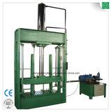 Utilisé des vêtements et textiles machine à comprimer la ramasseuse-presse