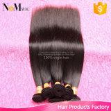 Export-Qualität 2 Jahr-Garantie 4 Bündel peruanische gerade Haar-