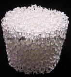 O filtro de espuma de cerâmica de alumina personalizados para filtração de Metal