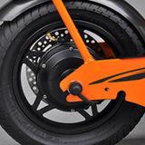Foladedのハンドルおよび後部座席が付いている2つの車輪の電気バイク