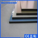 Revêtement PVDF panneau composite aluminium pour la décoration avec des matériaux de construction