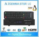 1080PおよびAdvanced EpgまでのHDMIの衛星Receiver Zgemma Star LC