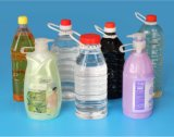 가득 차있는 Automatic 3000ml Pet Bottles Blow Molding Machine (YV-3000)