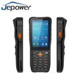 Scanner à grande vitesse de code barres de l'androïde 6.0 PDA de collecte des informations 8 de faisceaux tenus dans la main de Jepower Ht380K