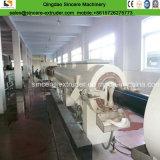 HDPE/PE/PVC 가스 또는 물 공급 플라스틱 관 압출기 밀어남 선 생산 기계